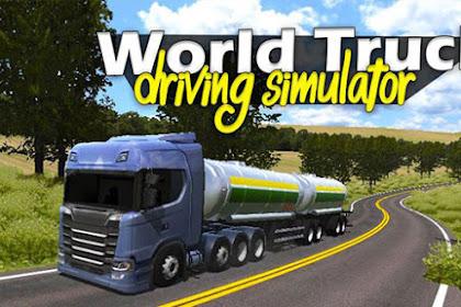 World Truck Driving Simulator v1.021 Apk + Data Mod [Unlimited Money] Terbaru 2018