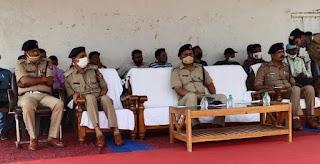 पुलिस अधीक्षक द्वारा हिस्ट्रीशीटर्स को अपराध छोड़कर समाज की मुख्यधारा में शामिल होने की दिलाई गई शपथ
