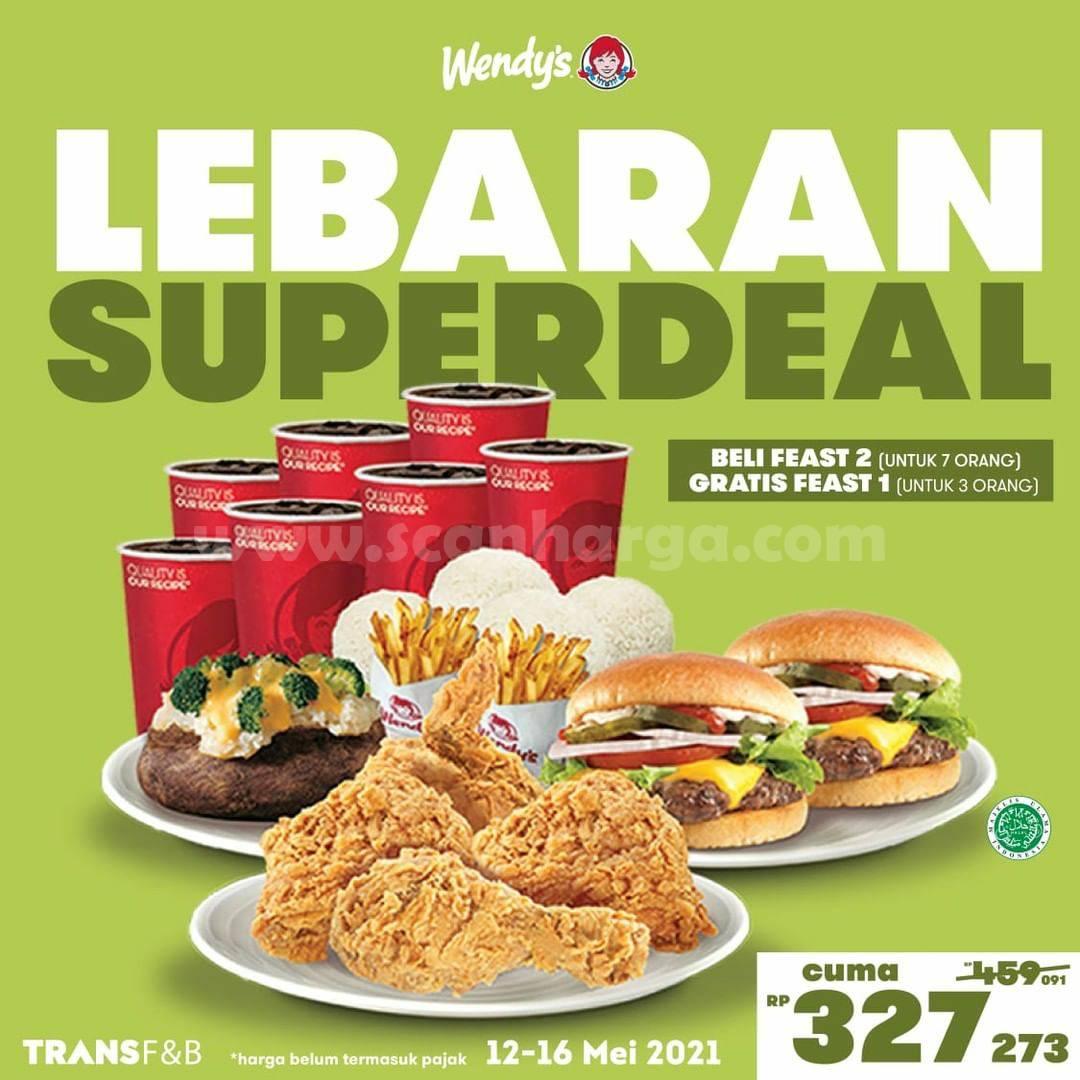 Promo WENDYS Lebaran SUPERDEAL