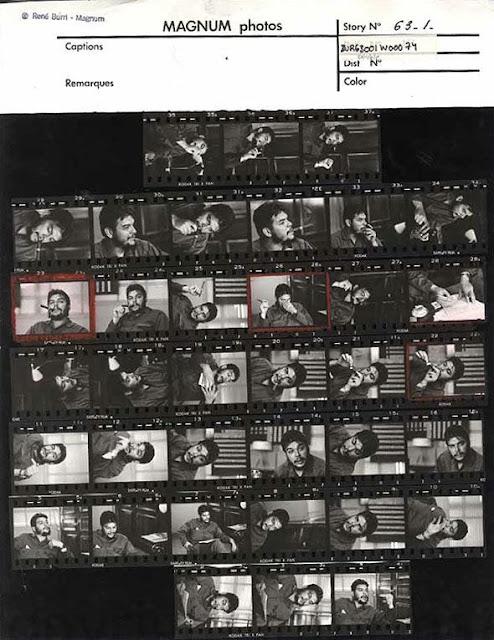 Burri, fotografie a Che Guevara