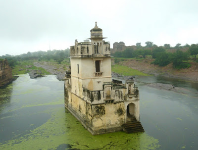 Queen Padmini Palace at Chittorgarh Fort, heritageofindia, Indian Heritage, World Heritage Sites in India, Heritage of India, Heritage India