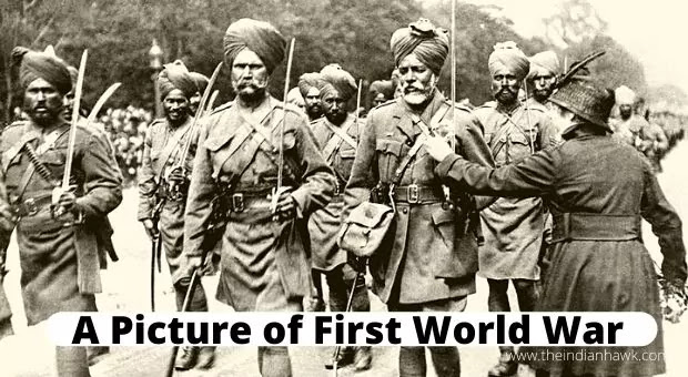 A picture of First World War Indian Soldiers