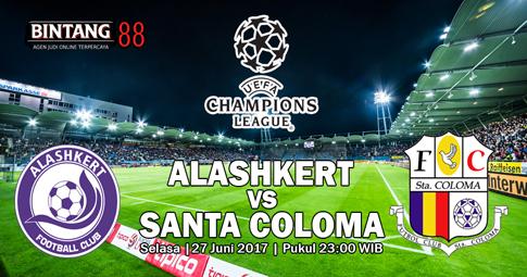 Prediksi Skor Alashkert vs FC Santa Coloma 27 Juni 2017