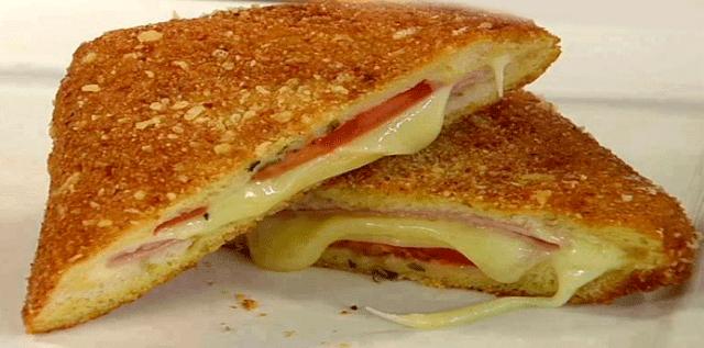 Receta de Sándwich Frito✅Sándwich frito de jamón y queso ideal para los niños, son muy deliciosos y fáciles de preparar.