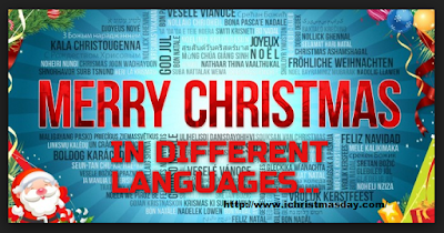 Christmas in Different Languages