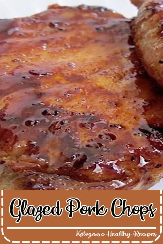 The sugar glaze helps keep the chops moist and tender Glazed Pork Chops