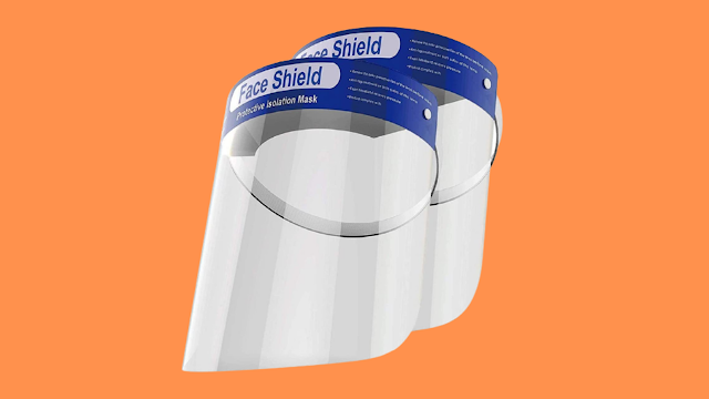 Best OMK 2 Pcs Reusable Face Shields Value For Money