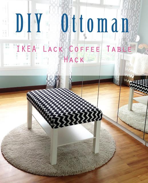 Ikea Coffee Table Diy: Home. Style. Organize.: DIY Ottoman