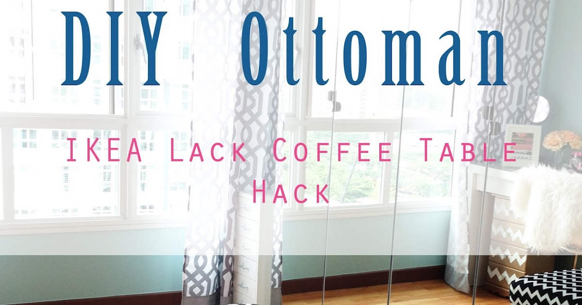 Home. Style. Organize.: DIY Ottoman - IKEA Lack Coffee ...