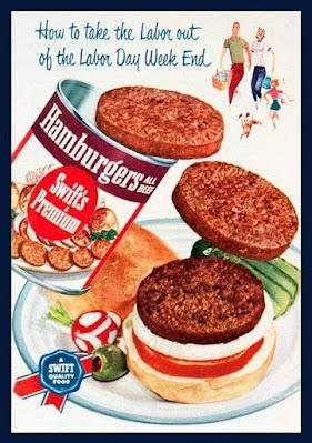 Swift's Premium Hamburgers in a can