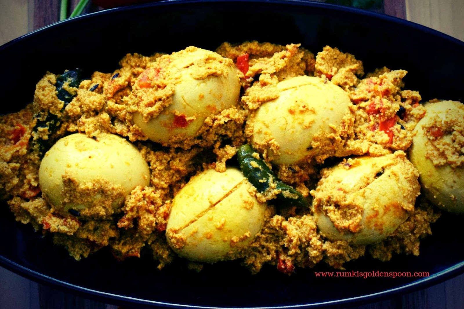 Dim posto, Dim posto recipe, how to make Dim posto, Dim posto Bengali Recipe, Dim posto curry, posto recipe, egg posto recipe, bengali egg curry recipe, egg recipe, with egg recipe, egg recipe for rice, without onion garlic recipe, Rumki's Golden Spoon