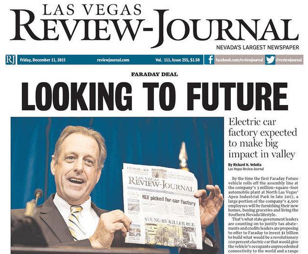 Jornais de Las Vegas