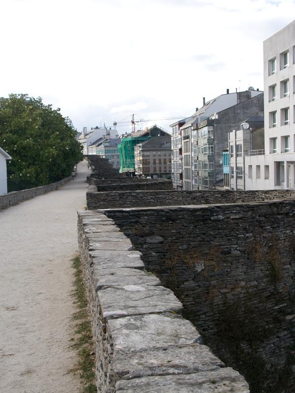 muralla de lugo vista desde arriba