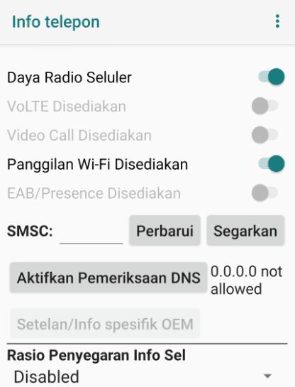 Cara Ubah Nomor SMSC