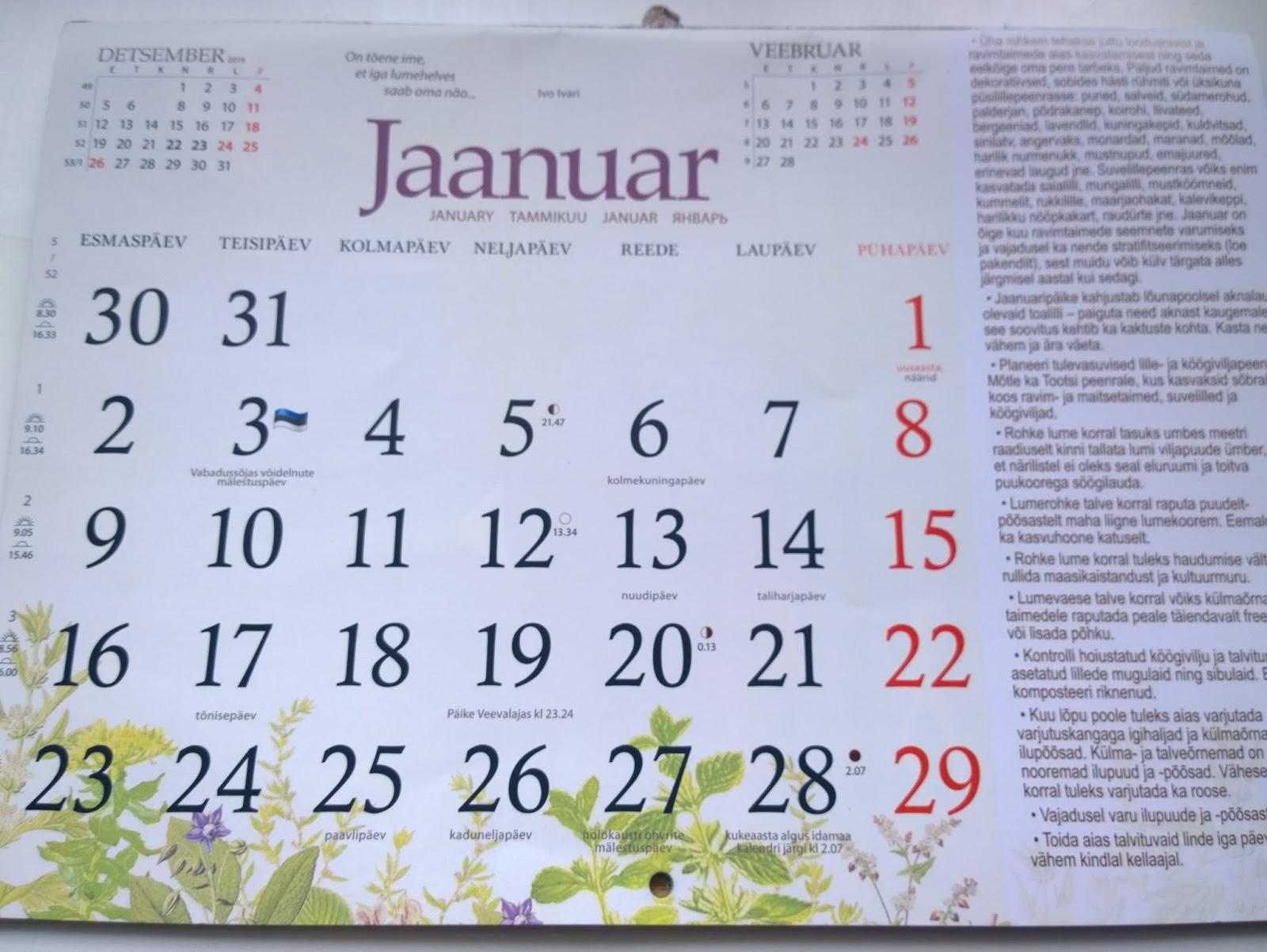 astroloogiline kalender