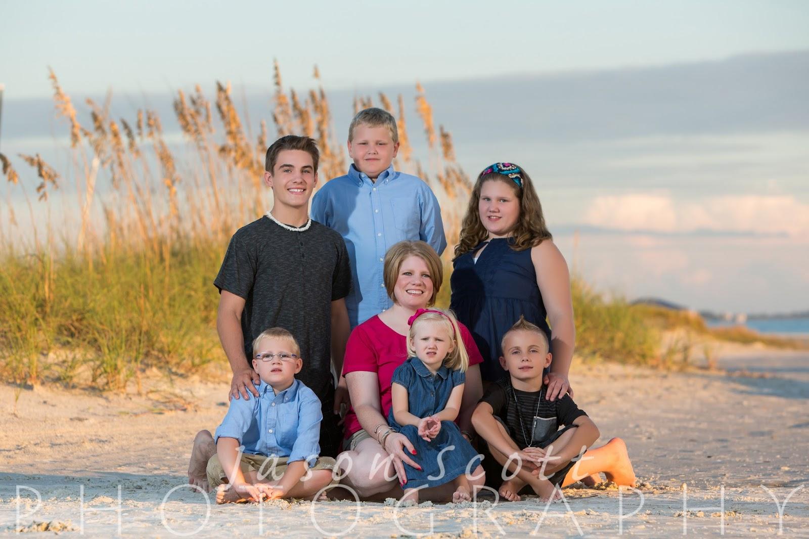 siesta key beach portraits holley family jason scott photography holley family on siesta key 2015