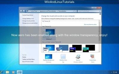 Blogger Template yang Terinspirasi dari Aero Windows 7