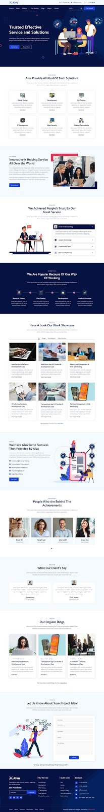 IT Solutions Template