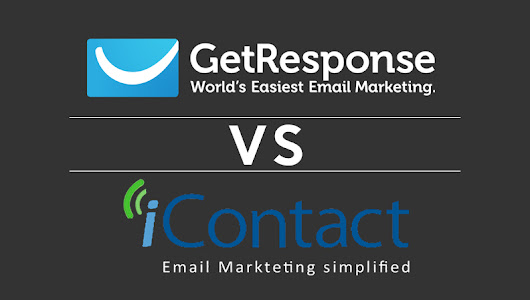 GetResponse VS iContact: Which is better email marketing solution?