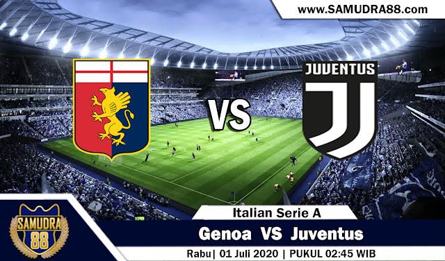 Prediksi Bola Terpercaya Liga Italia Genoa vs Juventus 01 Juli 2020