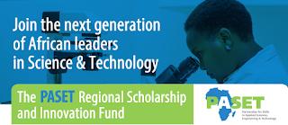 PASET-RSIF PhD Scholarships Programme 2020/2021