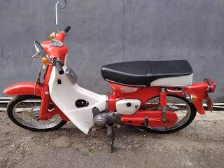Jual motor antik honda c70 1971