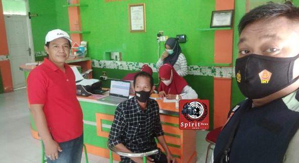 Personil Polsek Galsel Monitoring Pemberian Vaksinasi Covid-19 Tahap 1,  Perangkat Desa di Galesong
