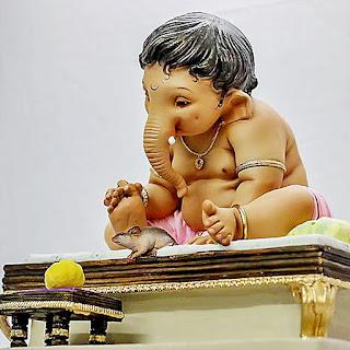 Bal Ganesh Murti By Vishal Shinde Murtikar HD Image