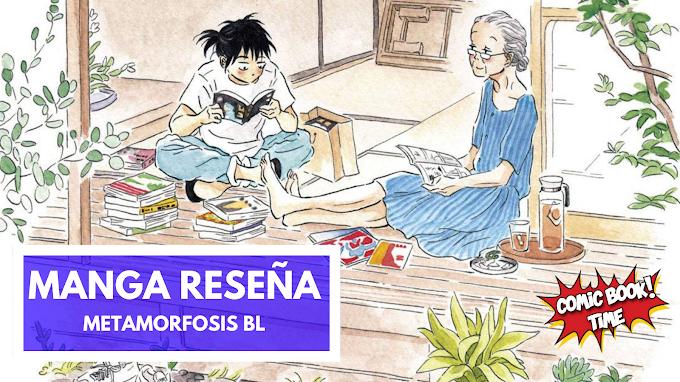 Manga reseña: 'Metamorfosis BL' , una amistad que supera las barreras de la edad | Editado por Norma Editorial