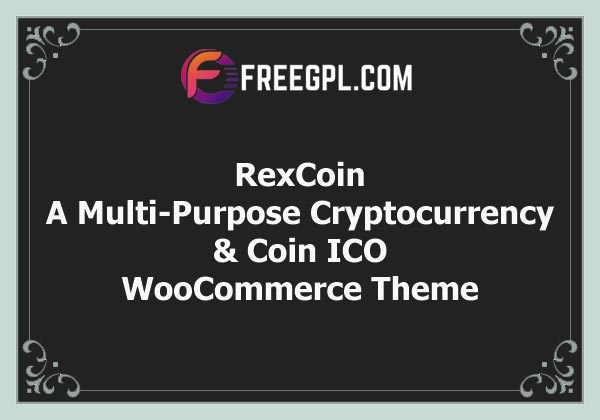 RexCoin | A Multi-Purpose Cryptocurrency & Coin ICO WordPress Theme Free Download