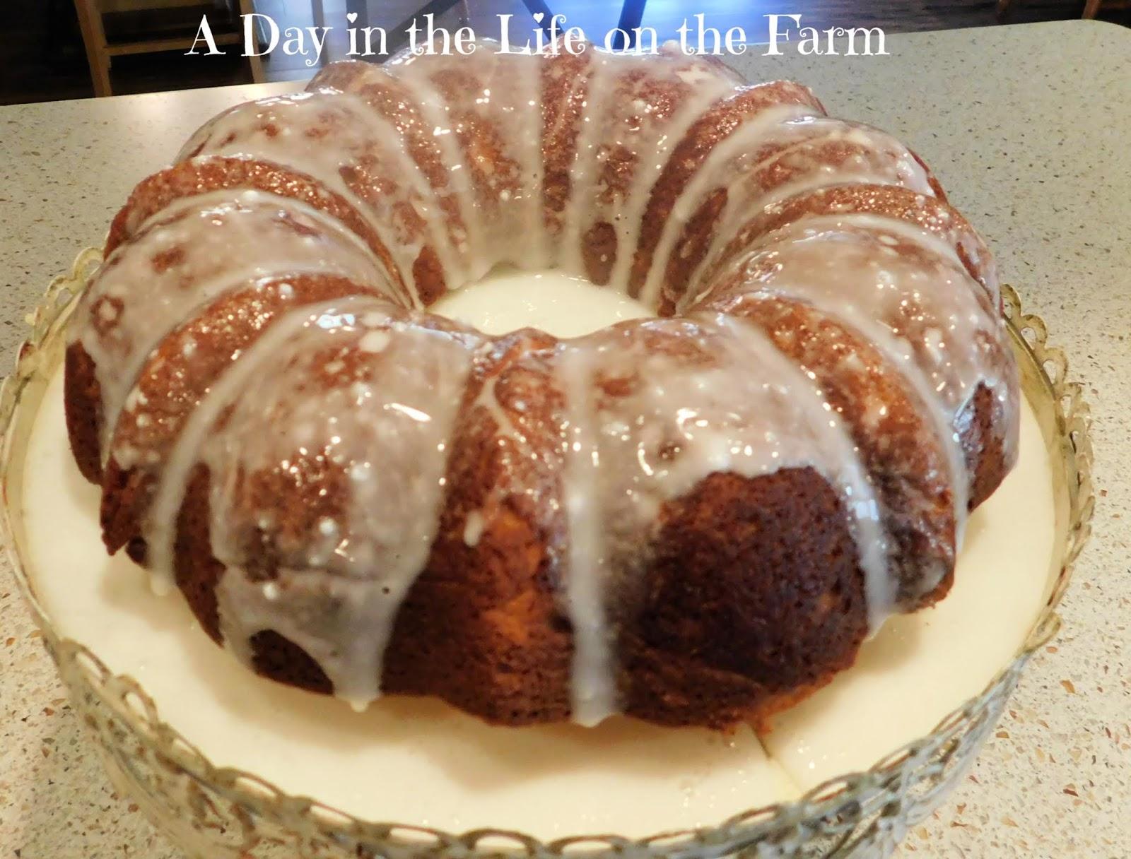 Lemon Ricotta and Thyme Bundt Cake