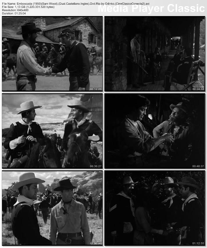 Emboscada | 1950 | Ambush | Secuencias de la película