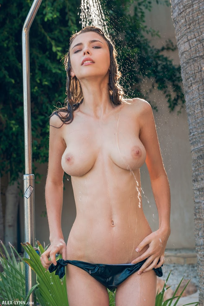 [Alex-Lynn.Com] Mila Azul - Outdoor Shower