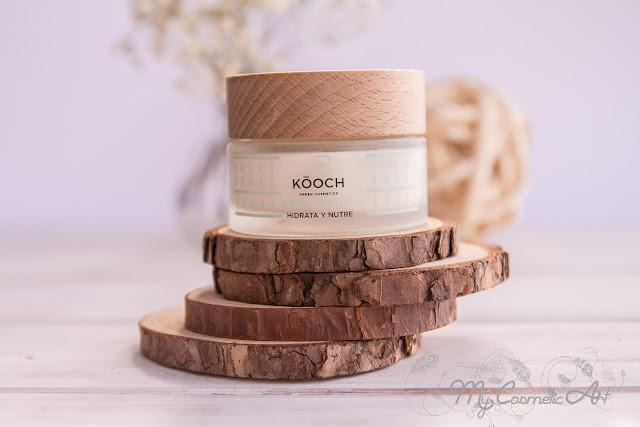 Crema hidratante facial de Kooch.