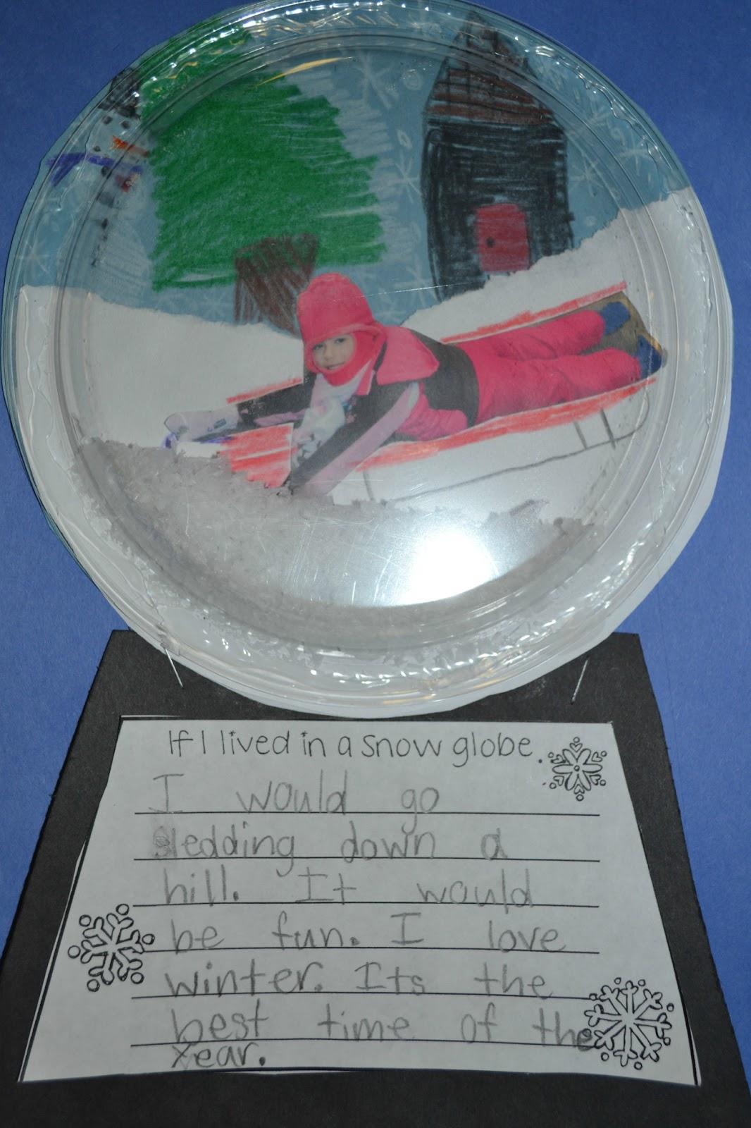 First Grade Funtastic Contraction Word Snowmen