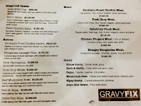 Gravy Fix Menu 2