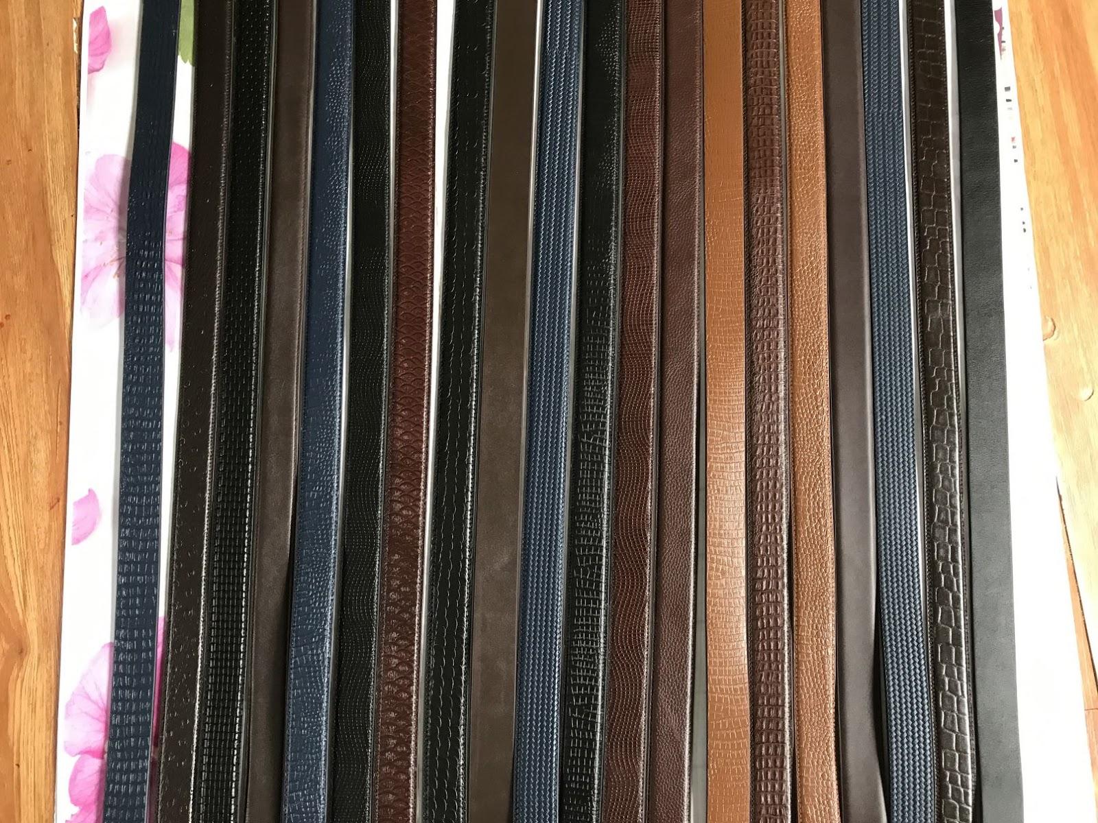 Nhận gia công sản xuất dây nịt thắt lưng
