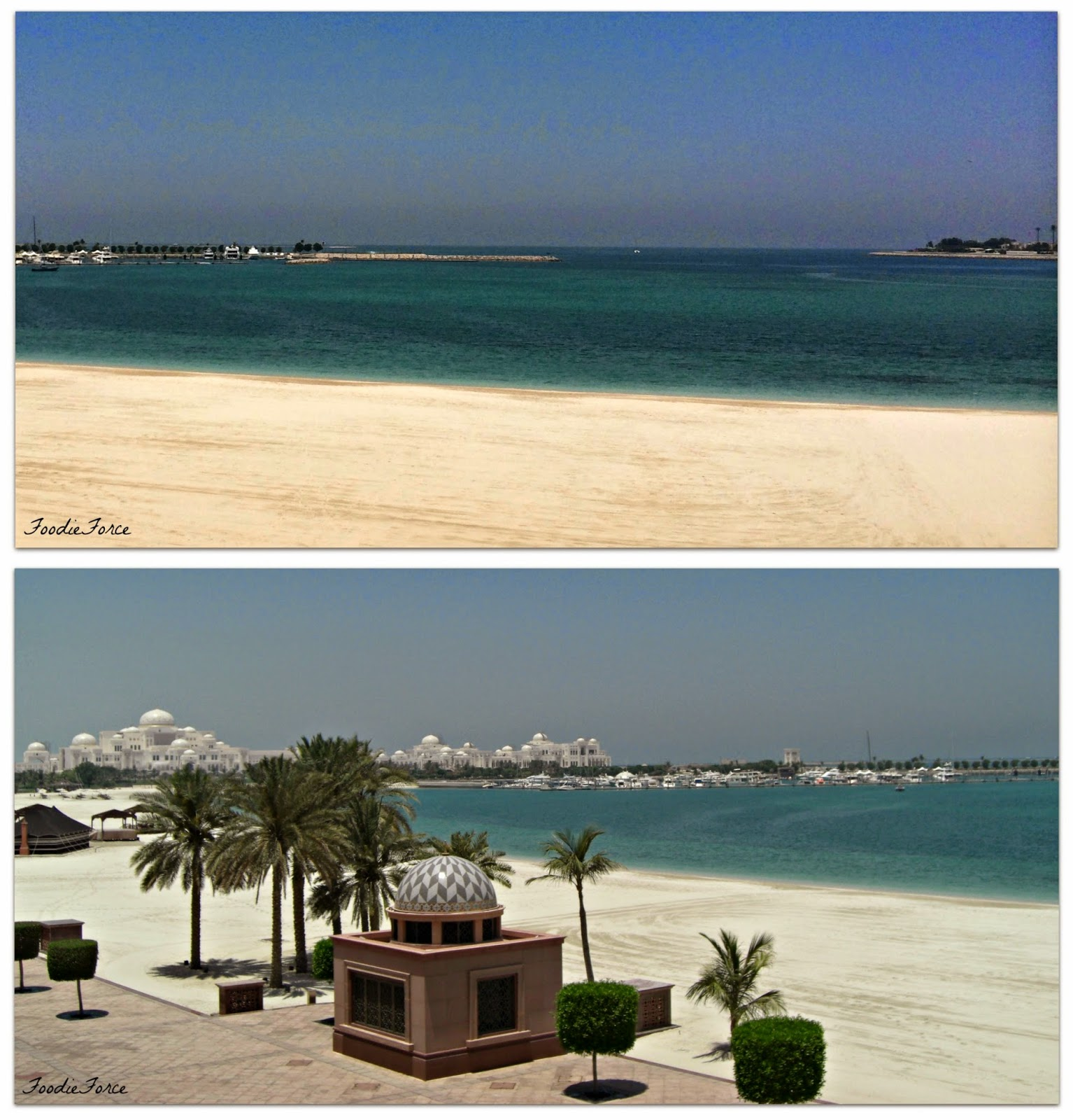 Emirate Palace beach