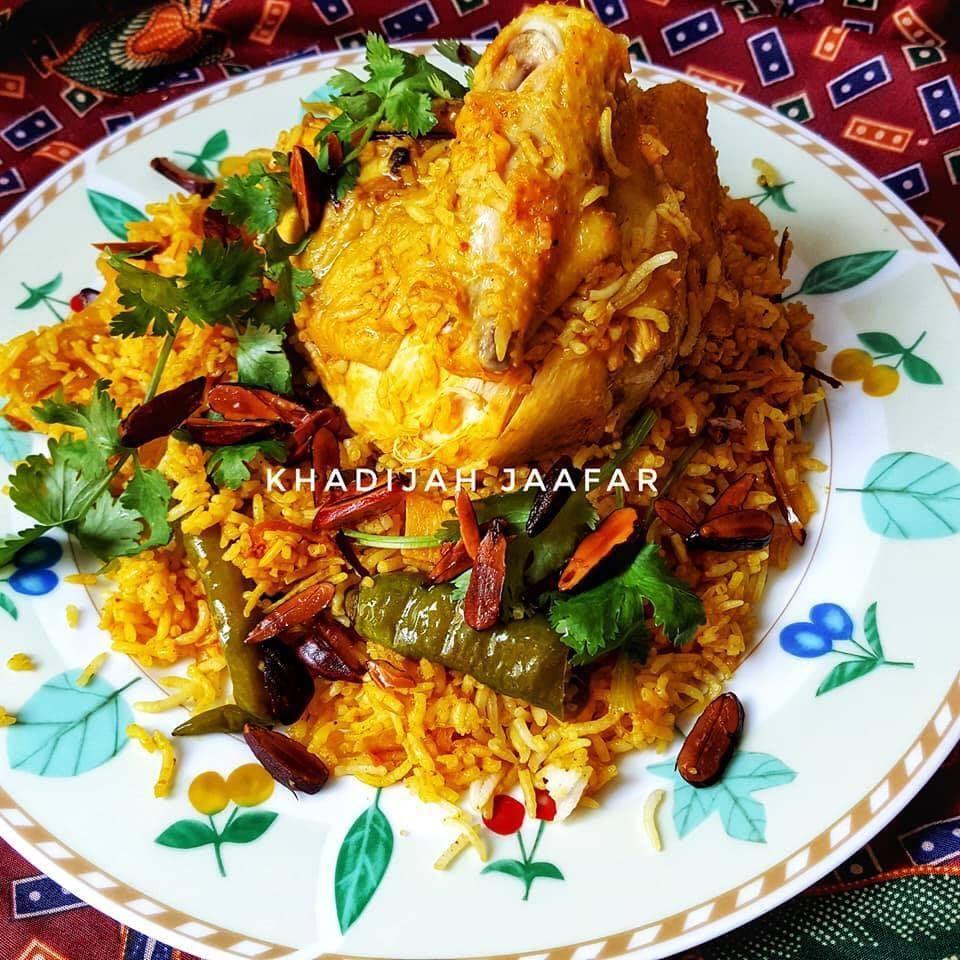 Resepi Nasi Beriyani Ayam Simple