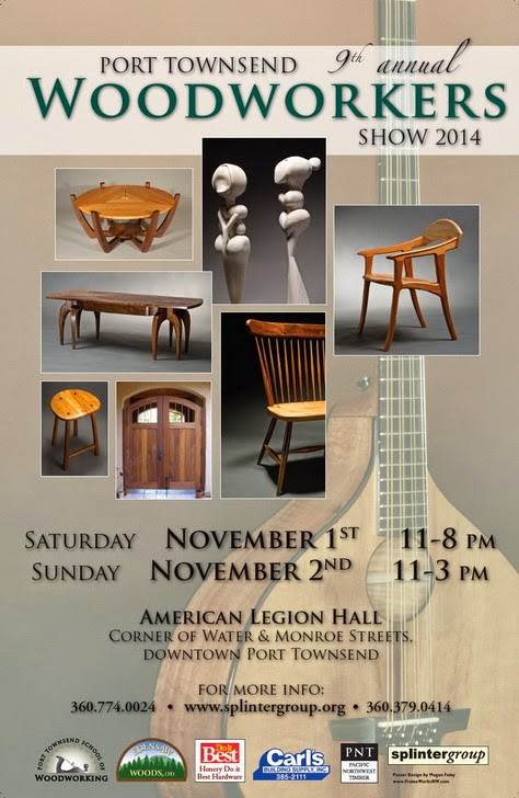 Help us promote the Port Townsend Woodworkers Show 2014