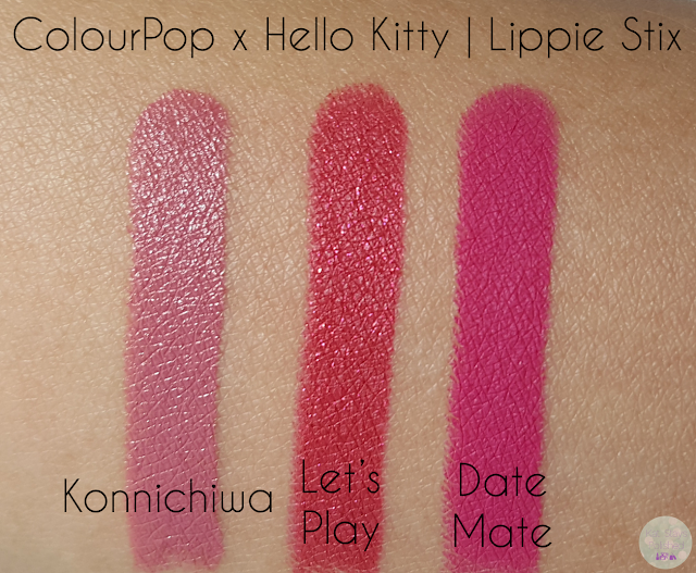 ColourPop x Hello Kitty - Lippie Stix | Kat Stays Polished