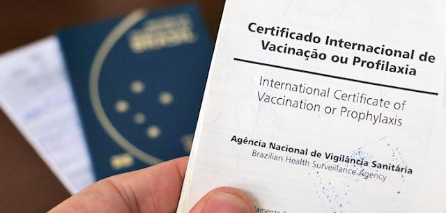 Certificado de Vacinação para entrar em Milão