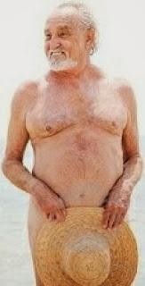 old naked man