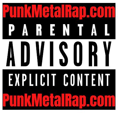 PunkMetalRap.com Tipper Sticker (once again) second logo.