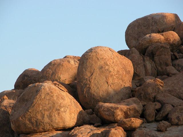 Africa Namibia Stones