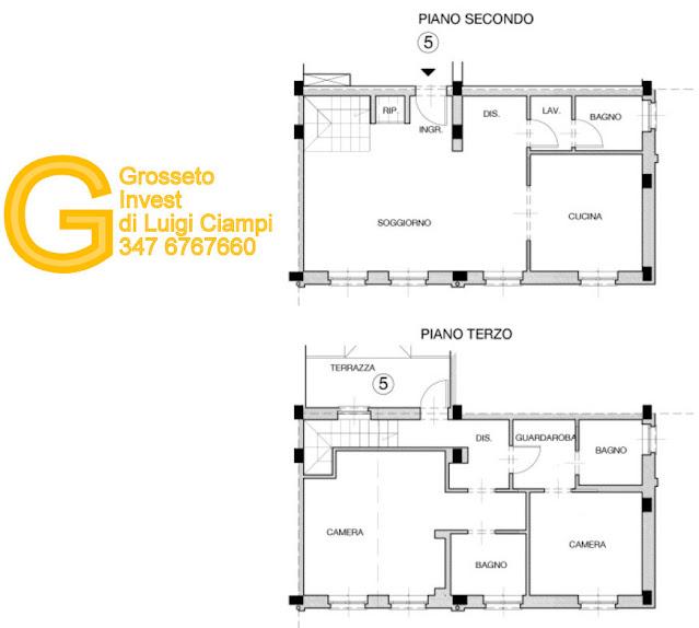 quadrilocale-nuovo-affitto-grosseto, appartamento affitto a grosseto, Affitti a Grosseto Grosseto Invest www.grossetocase.com