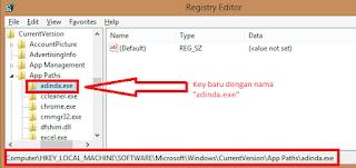 Membuat Nama Panggilan/Alias Untuk Program Windows