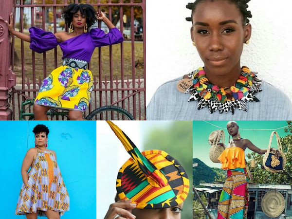 African wear with a Trini flair