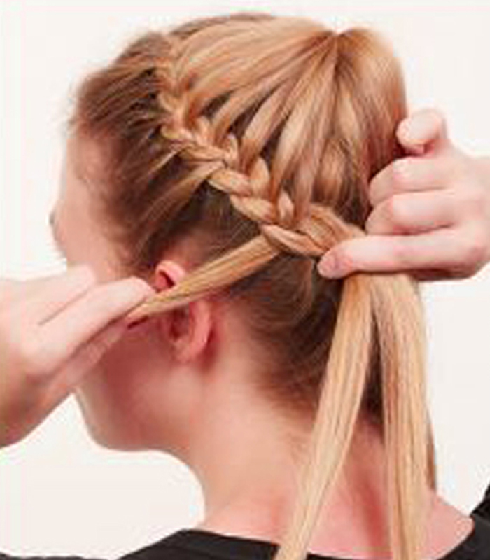 Step By Step French Braid Pictures