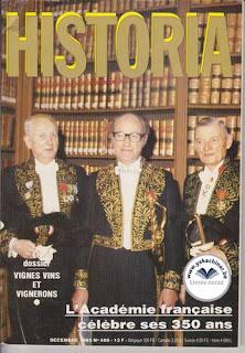 Revue Historia, 468 1985, vignes vins et vignerons